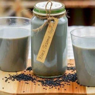 Sữa tươi Mè đen